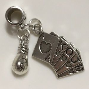 Money Pocket Charm Fit Pandora Bracelet